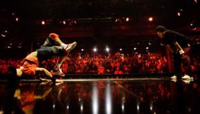 Red Bull BC One B-Boy breakdancing