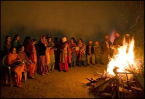 Lohri harvest festivals tradition india