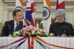 Cameron UK PM India visit