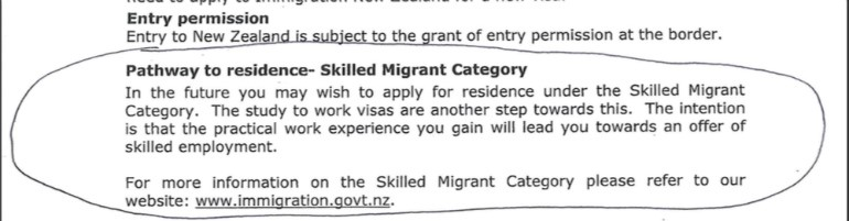 Indian students made scapegoat by Immigration New Zealand