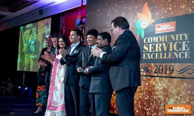 Harshad Patel: Community Service Excellence Award 2019 - www